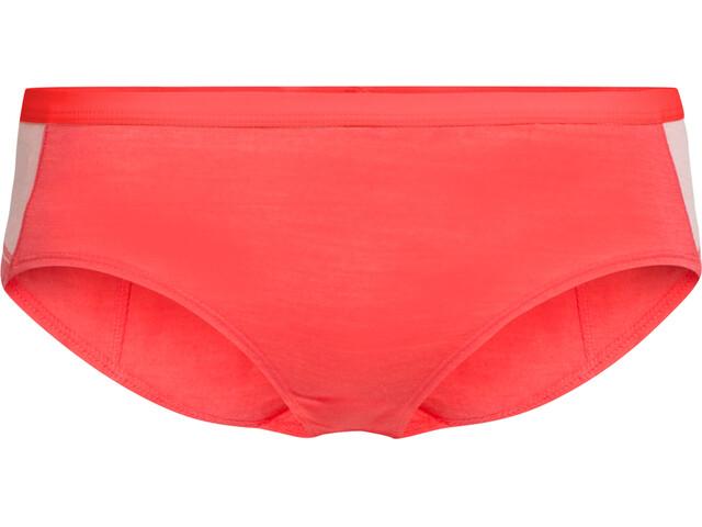 Icebreaker Meld Zone Hipkini Women poppy red/sorbet